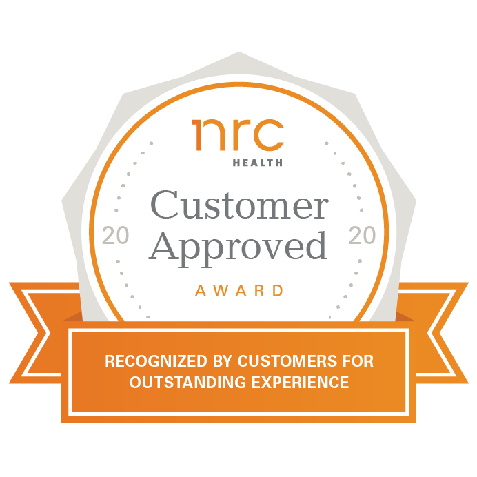 NRC Customer Approved Award 2020