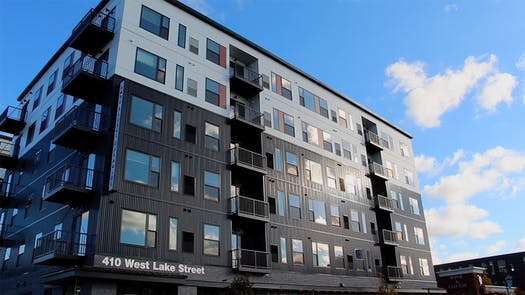 Lupe Development Partners is moving forward on two rental projects aimed at low-income renters: An 111-unit building that opened on Lake Street in Minneapolis, shown above, and a senior rental in Edina.
